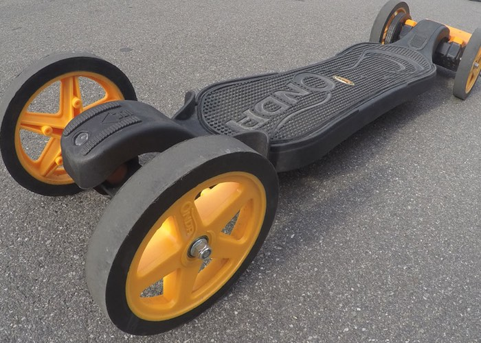 Faraday Motion 3D Printed Electric Skateboard