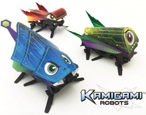 Kamigami Origami Robots Can Be Controlled By Your Smartphone (video)