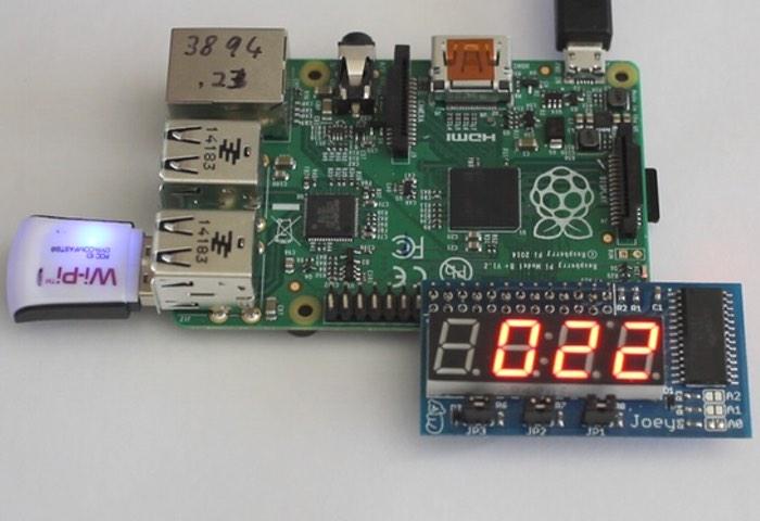 LED Raspberry Pi Display