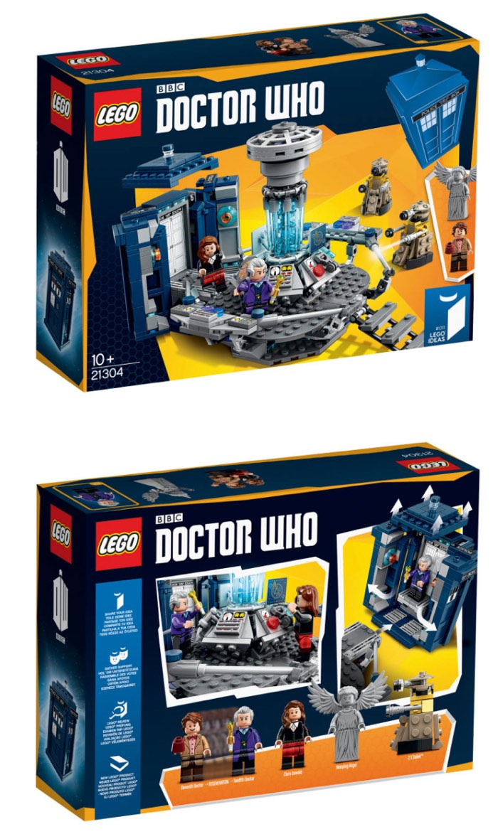 Lego Doctor Who Sets
