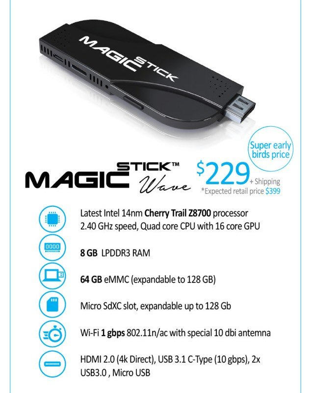 MagicStick Powerful Stick PC