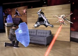 Microsoft HoloLens Project Xray Gameplay Demonstration Released (video)