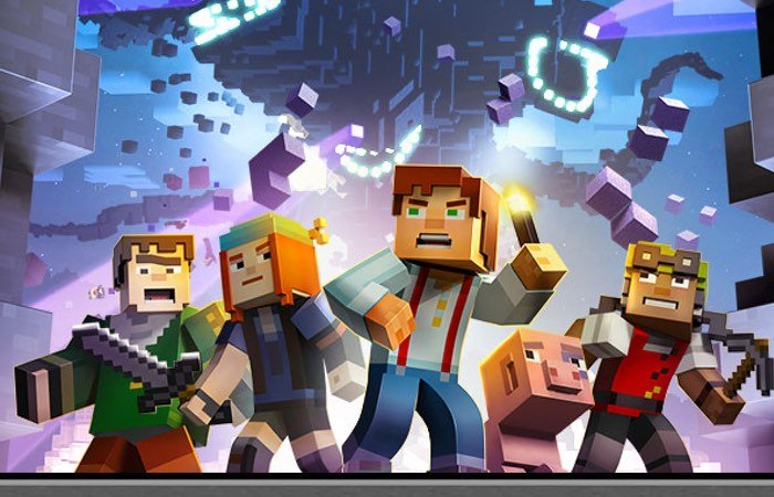 New minecraft story mode trailer released video - Minecraft story mode wallpaper ...
