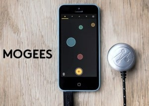 Mogees Sensor Converts Anything Into A Musical Instrument (video)