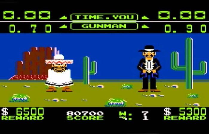 Nintendo Wild Gunman