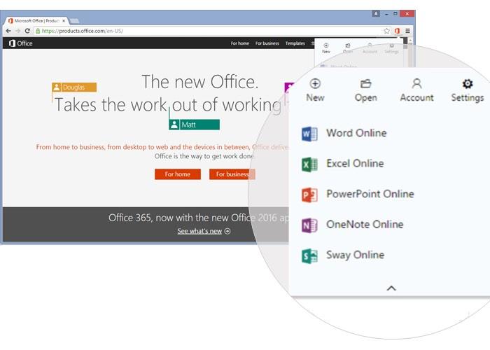 Office Online Skype