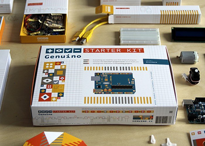 Official Arduino Genuino Starter Kit Now Available In The US
