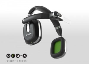 Ora-X Smart Headphones Equipped With Augmented Reality Screen (video)