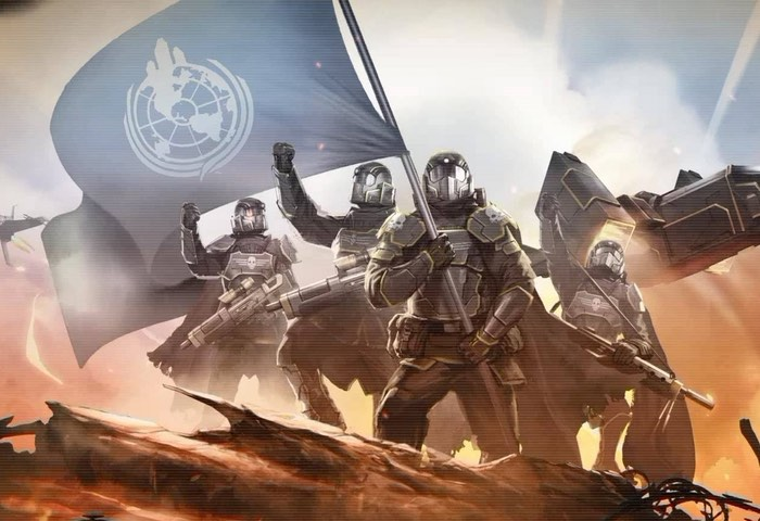 PS4 Helldivers Democracy Strikes Back