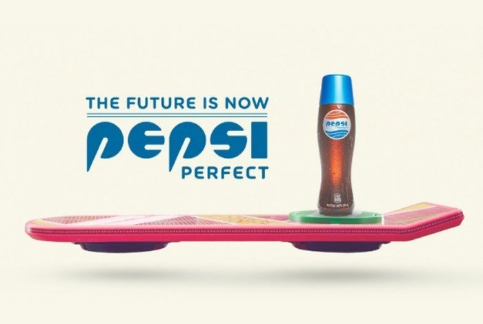 Pepsi Back To The Future Limited Edition Bottle