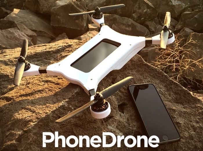 PhoneDrone Ethos Smartphone Quadcopter