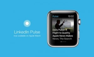 LinkedIn Launches Pulse App For The Apple Watch