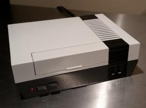 3D Printed Raspberry Pi NES, Nintendo Entertainment System