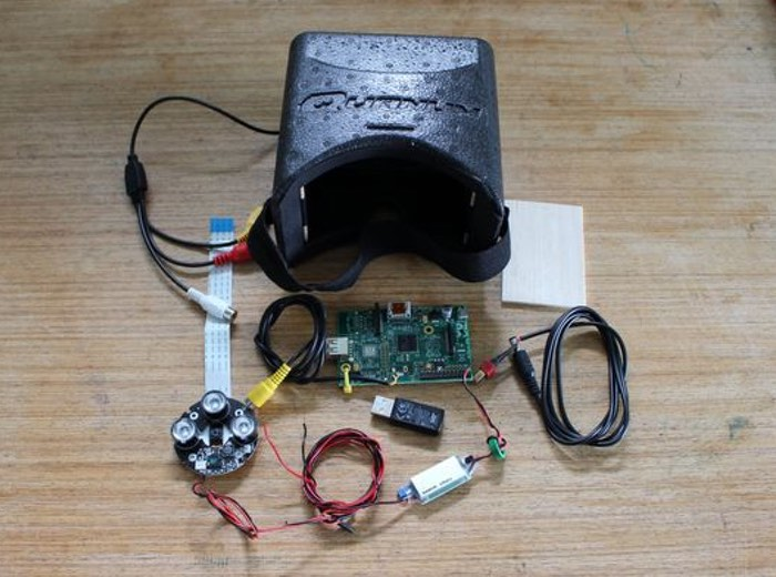 Raspberry Pi Night Vision Goggles-1