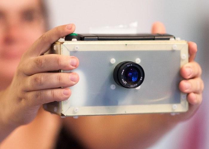 Raspberry Pi Point And Shoot Camera
