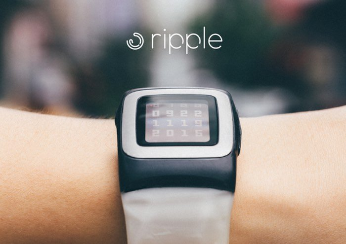 Ripple Pebble Time Solar Watch Strap