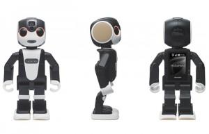 RoboHon Smartphone Dances, Walks And Talks (video)