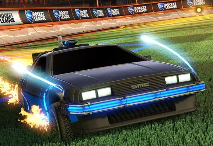 Rocket League Back to the Future