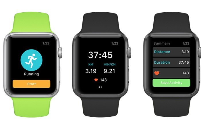 Runkeeper Apple Watch App