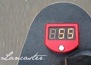 Skateboard Speedometer And GPS System Launches From $72 (video)