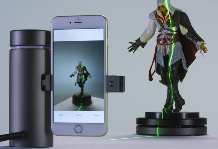 eora 3d smartphone 3d scanner video. Black Bedroom Furniture Sets. Home Design Ideas