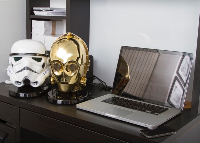 Star Wars Stormtrooper And C-3PO Bluetooth Speakers