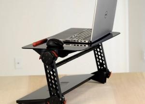 TORAX Standing Desk Adjustable Support Stand Hits Kickstarter (video)
