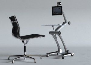 The Zstand Minimalist Desk System (video)