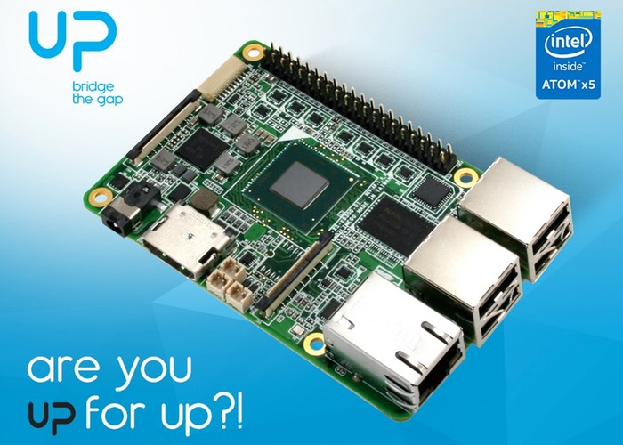 UP Intel x5-Z8300 Development Board