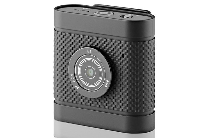 Wearable Streaming EE 4G Camera Launches