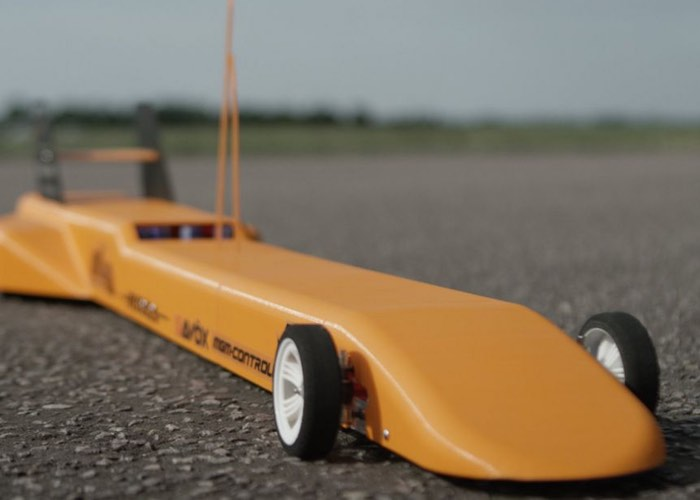 Worlds Fastest 3D Printed Remote Controlled Car (video)