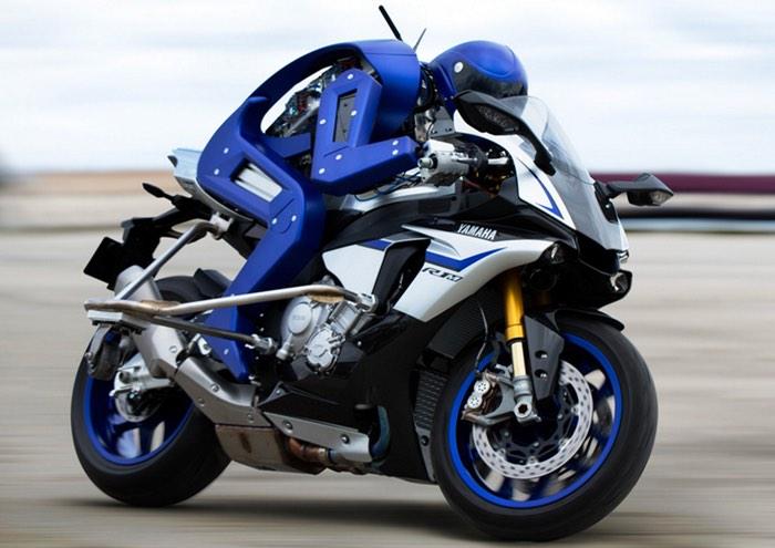 Yamaha Robot Motorcycle Rider