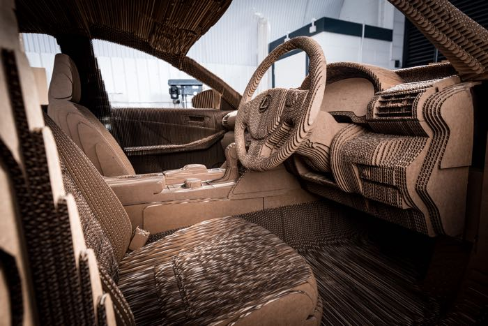 10 Ideas About Cardboard Box Cars On Pinterest: Lexus Just Made A Car From Cardboard (Video