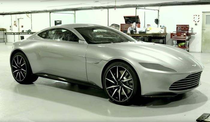 Here Is Another Video Of The Aston Martin Db10