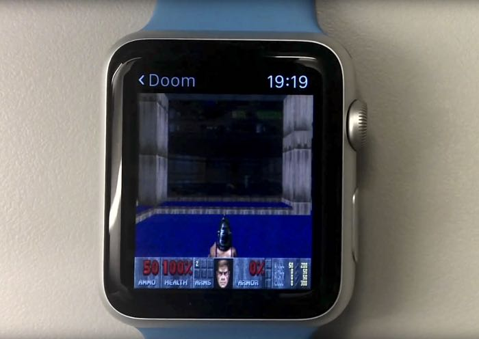 doom apple watch