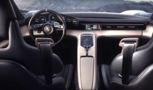 Porsche Mission E Interior Shown Off In New Video