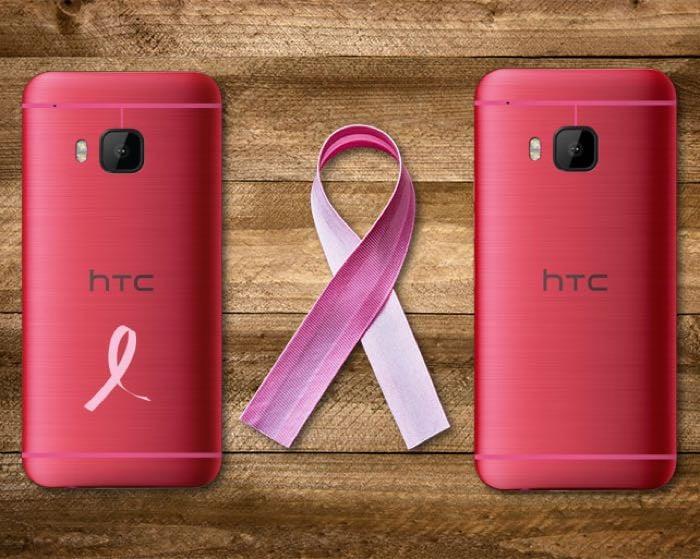 pink htc one m9