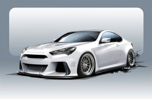 Hyundai Solus Genesis Coupe to Show off at SEMA
