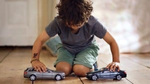 Kids Are Not Impressed With Uncrashable Mercedes Toy Cars (Video)