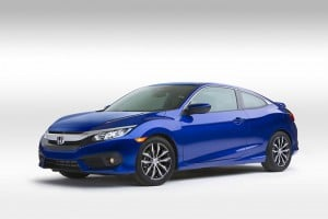 2016 Honda Civic Coupe Breaks Cover at LA Auto Show
