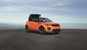 Range Rover Evoque Convertible Unveiled (Video)