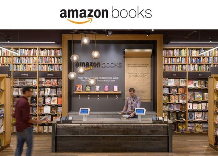 Amazon Opens Its First High Street Bookstore