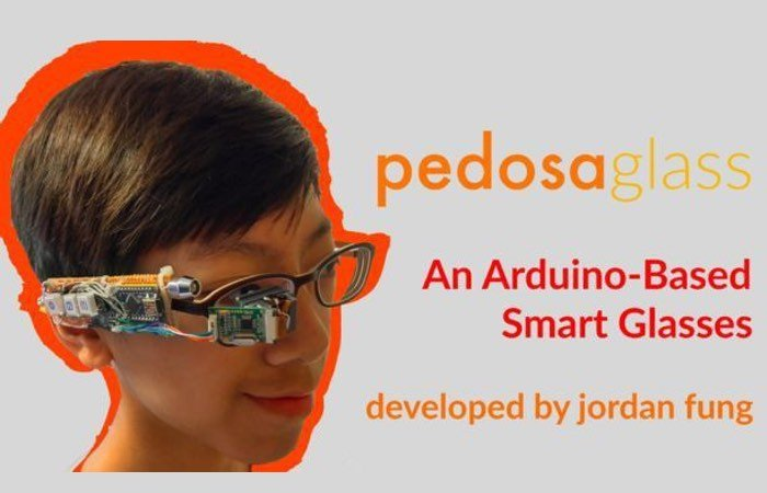 Arduino Powered Smart Glasses