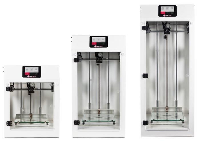 Builder Premium 3D Printer Range Unveiled