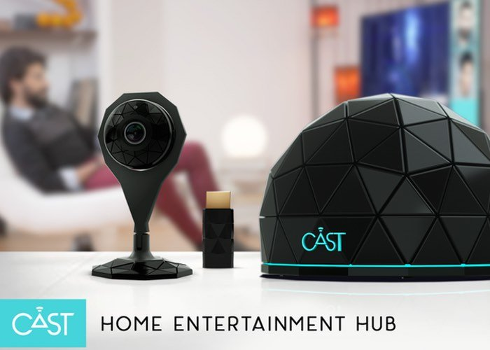 CAST Home Entertainment Hub