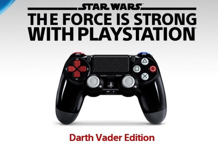 Darth Vader PlayStation 4 Controller