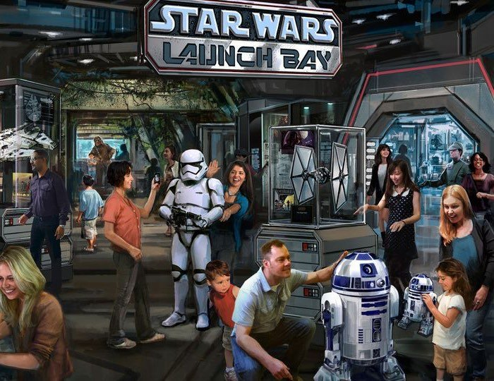 Disney Star Wars Attractions