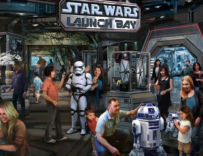 Disney Star Wars Attractions
