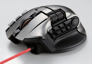 Dux MMO Gaming Mouse For MMORPG Gamers Offers 19 Buttons And Two Scroll Wheels
