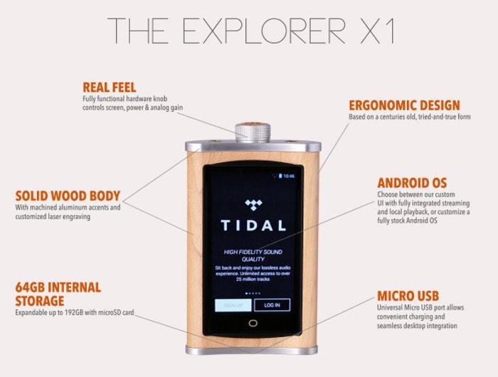 Echobox Explorer X1 High Resolution Audio Player